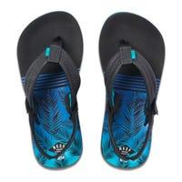 Sandal Little Ahi Aqua Palms Sizes 3-12