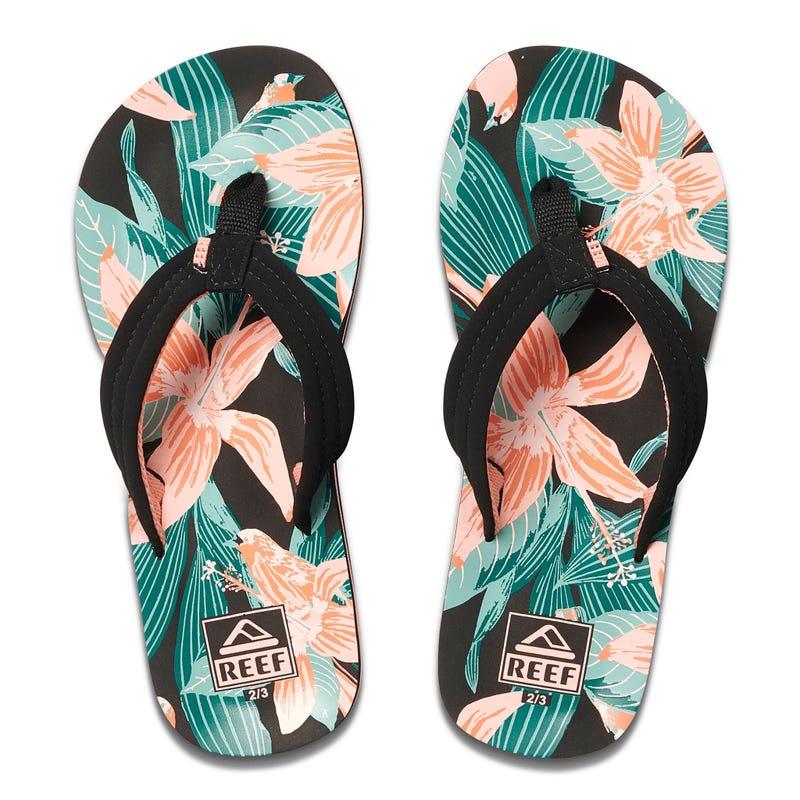 Sandal Kids Ahi Hibiscus Sizes 13-7