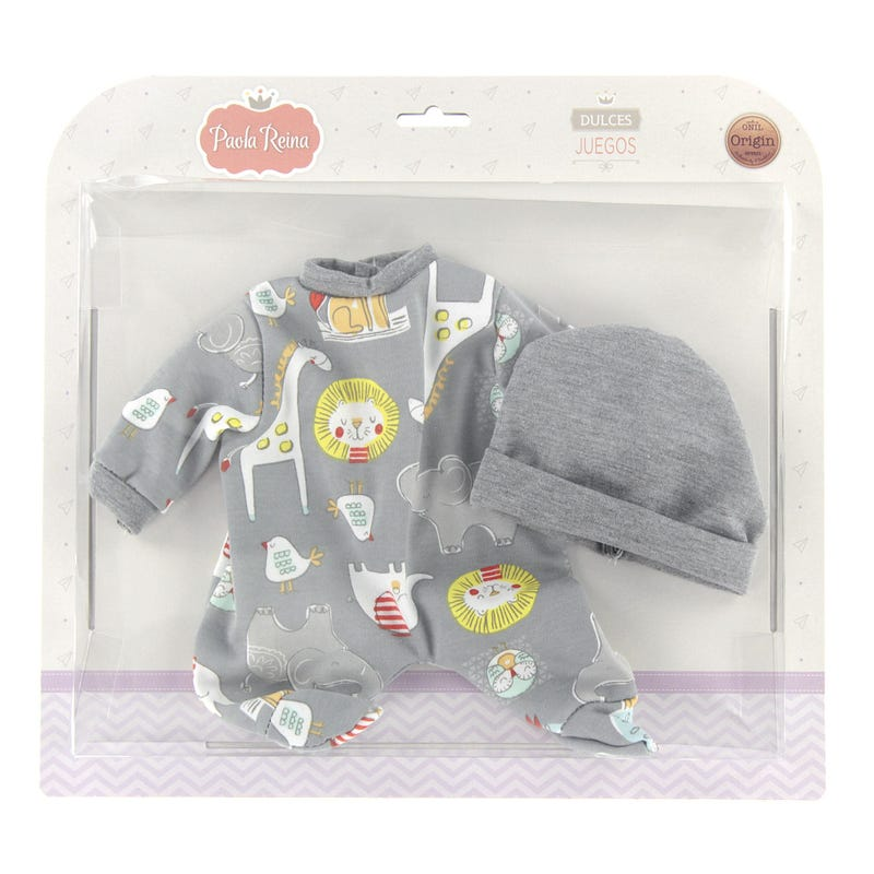 Pyjamas Animaux pour Poupée
