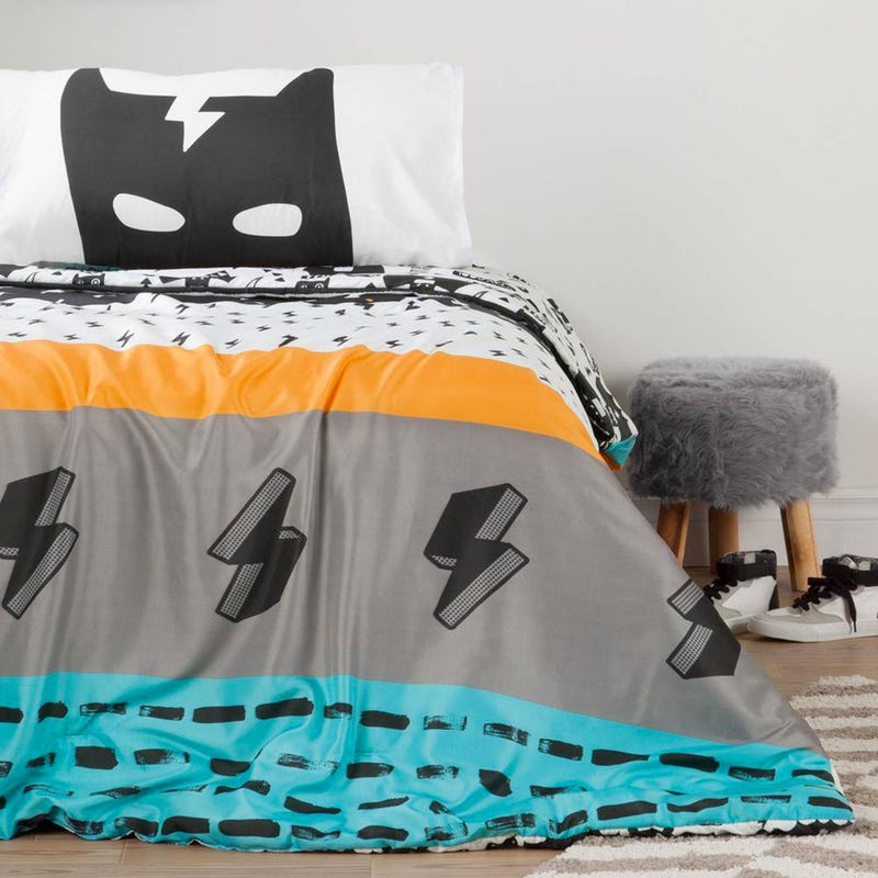 DreamIt Comforter and Pillowcases - Superheroes