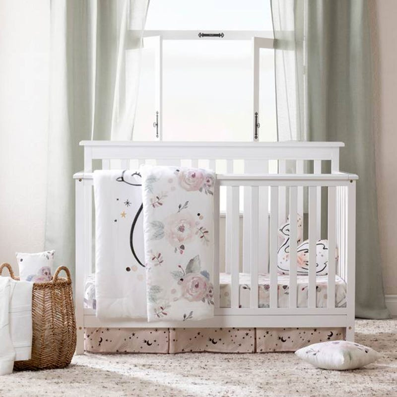 4-Piece Baby Bedding DreamIt - Watercolor Floral