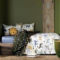 Dreamlt Double Comforter - Safari Wild Cats