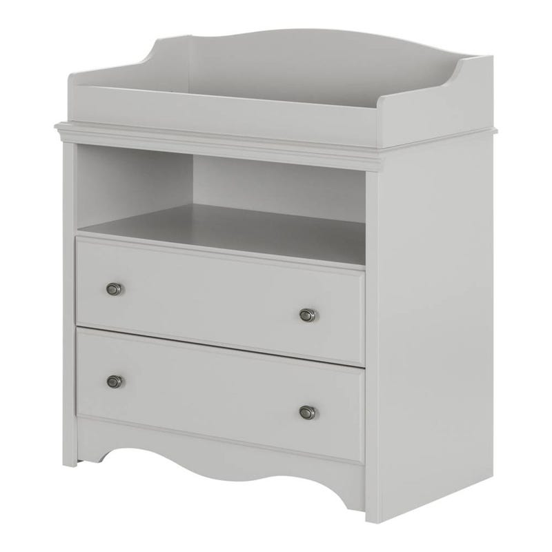 Changing Table Angel - Soft Gray