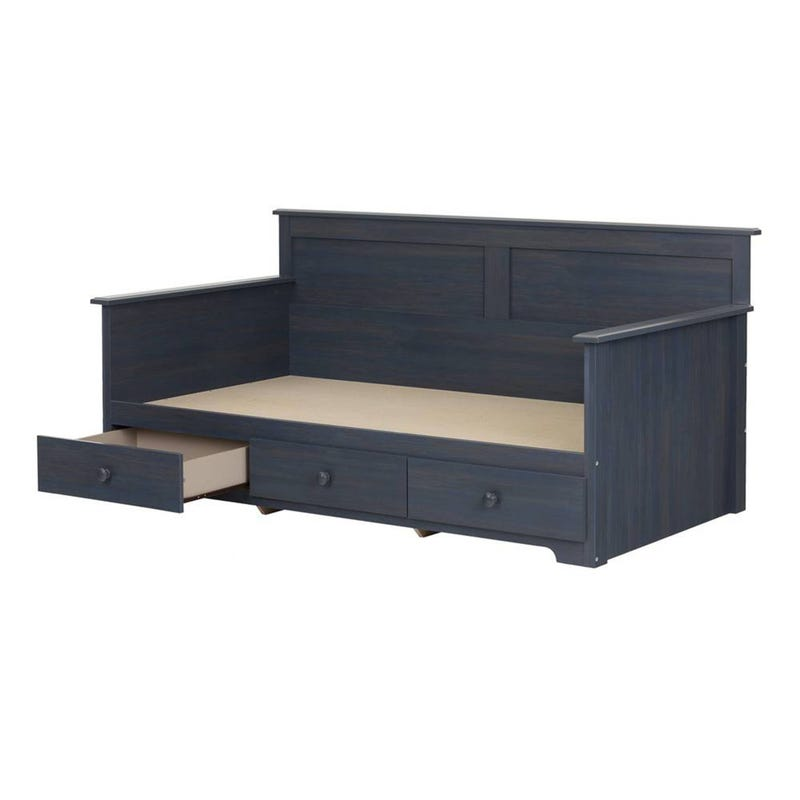 Summer Breeze Daybed with Storage - Blueberry