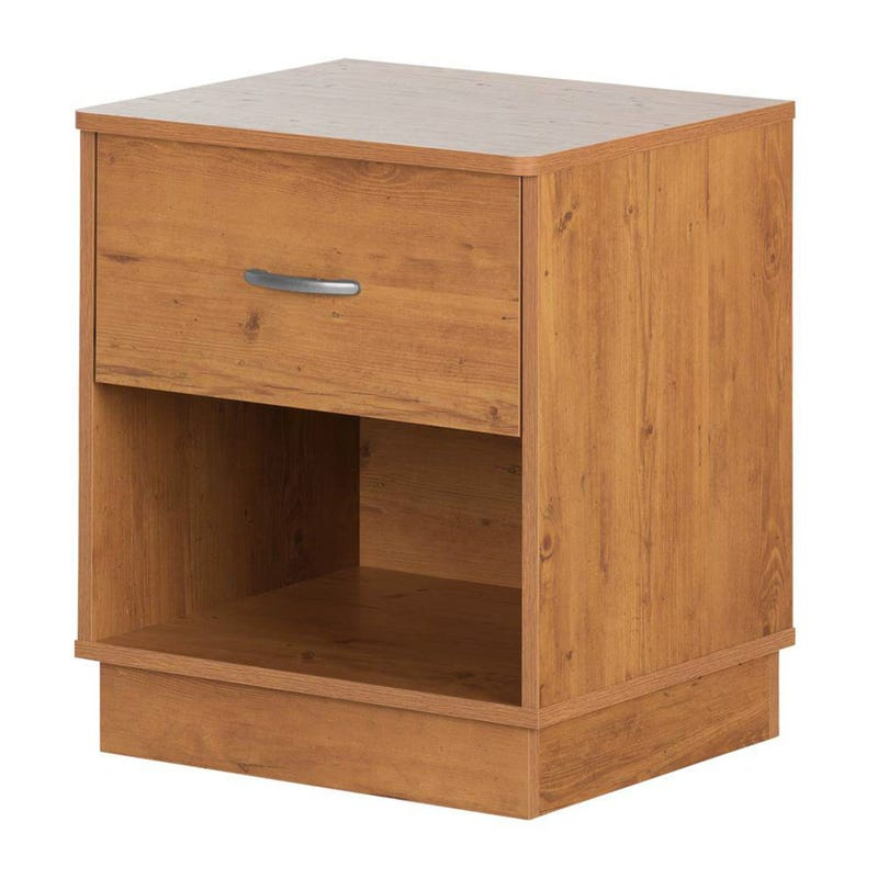 Logik 1-Drawer Nightstand - Country Pine