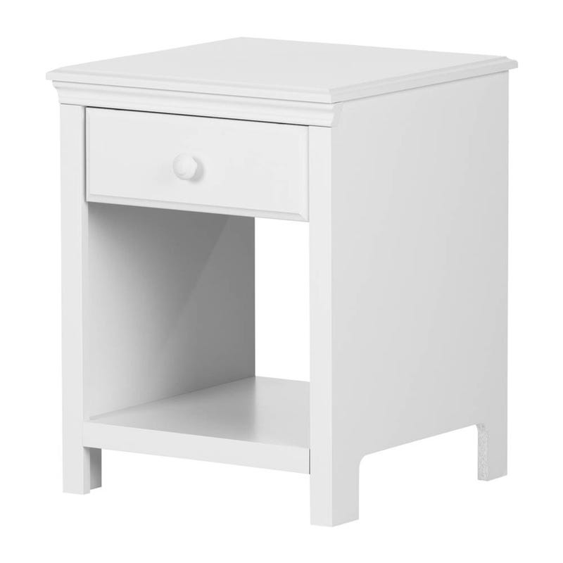 Nightstand Cotton Candy - White Solide