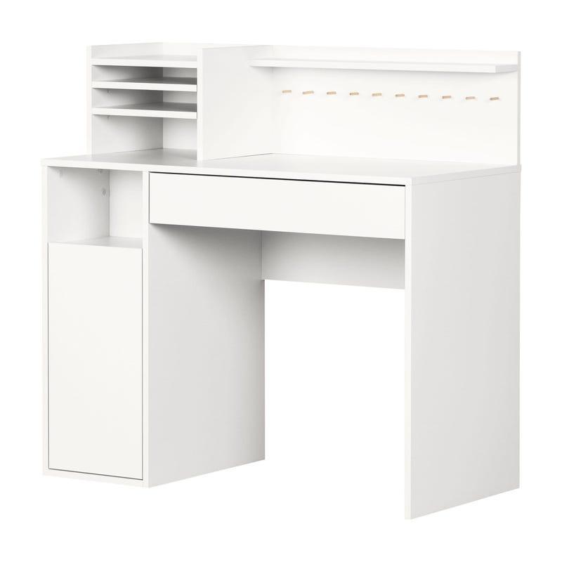 Table de Bricolage avec Huche - Crea Blanc solide