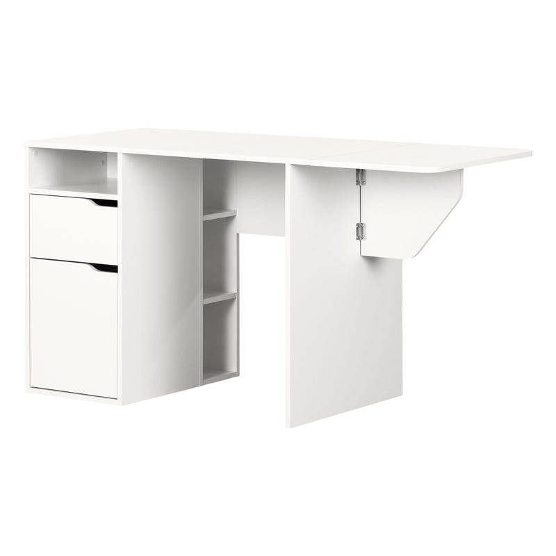 Expandable Craft Table - Crea Pure White