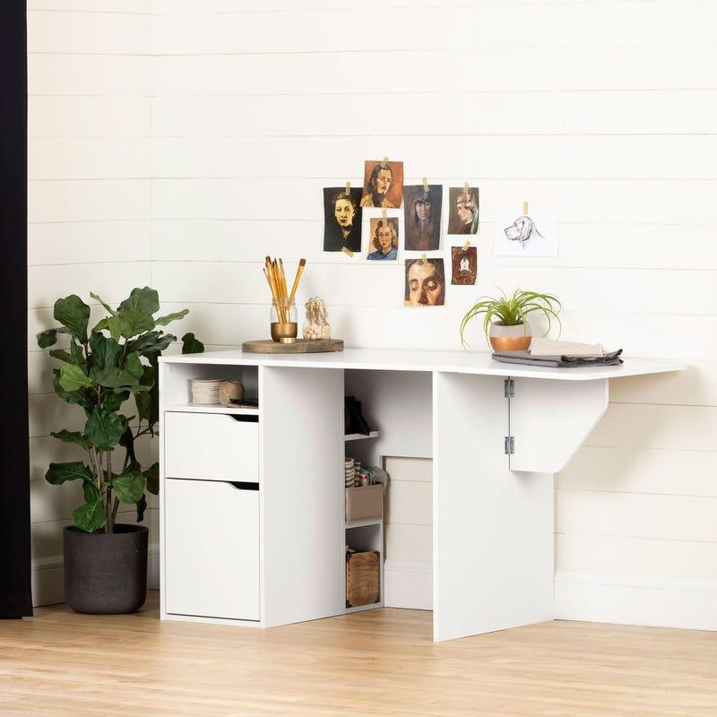 Expandable Craft Table - Crea Pure White
