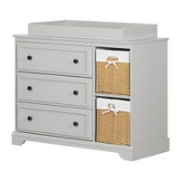 Kanal Changing Table - Soft Gray