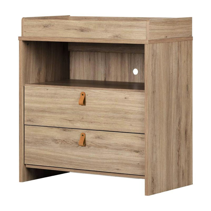 Balka 2 Drawer Changing Table  - Oak