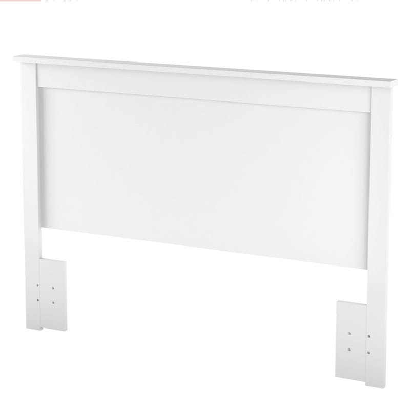 Vito Double Headboard - Pure White