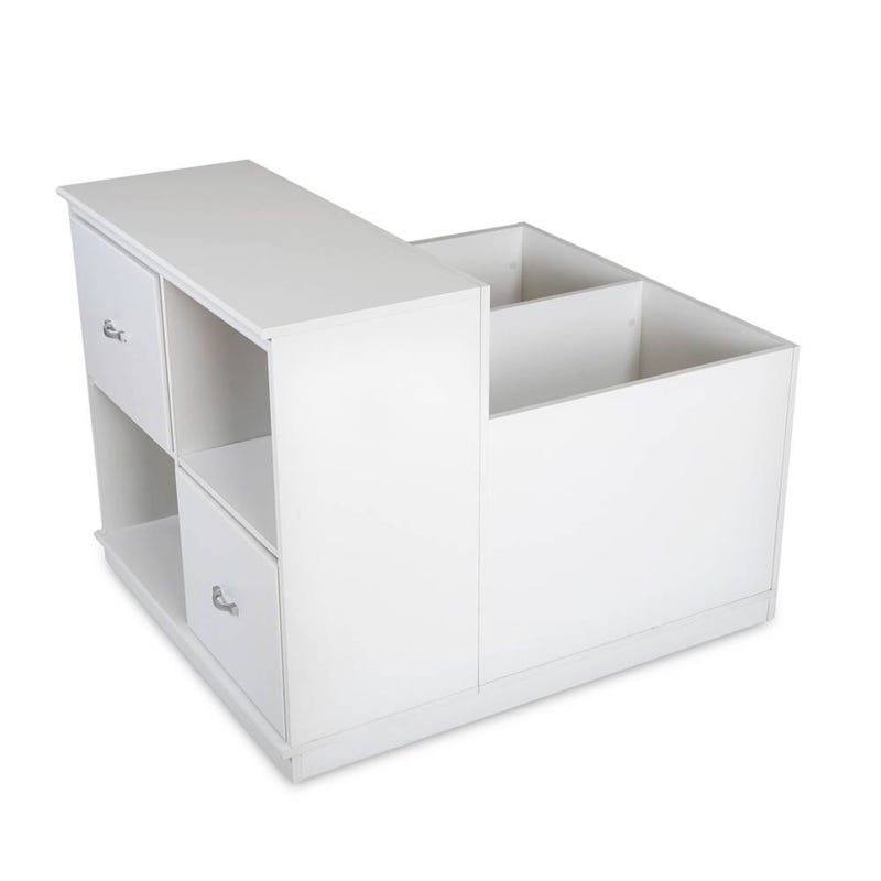 Mobby Mobile Storage Unit - Pure White