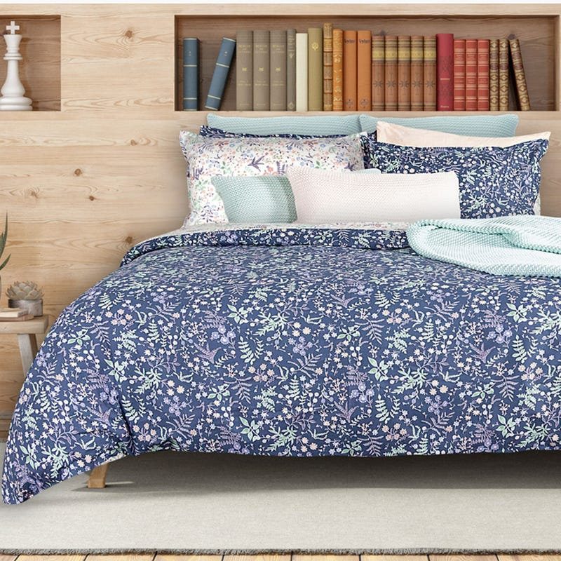 Double Flowers Duvet Cover - Alura