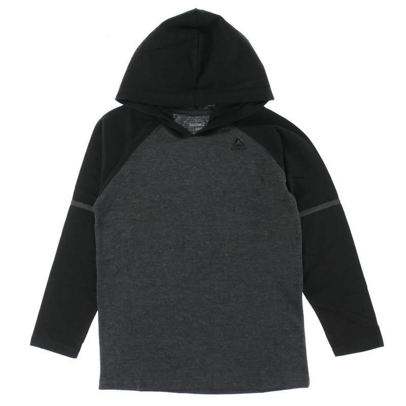 Raglan L/S Hooded T-Shirt 8-20