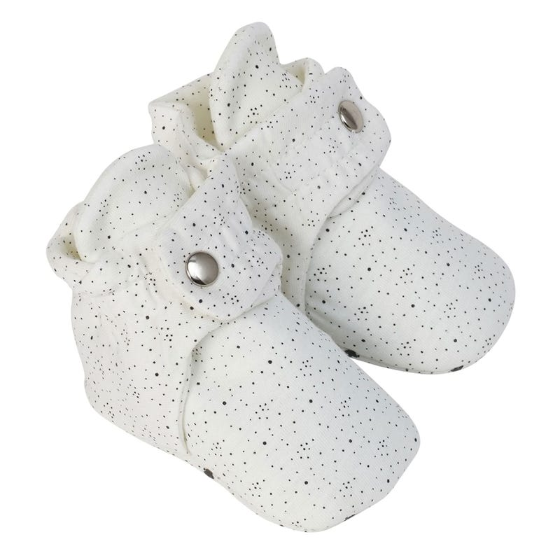 Speckled Snap Booties 0-12m