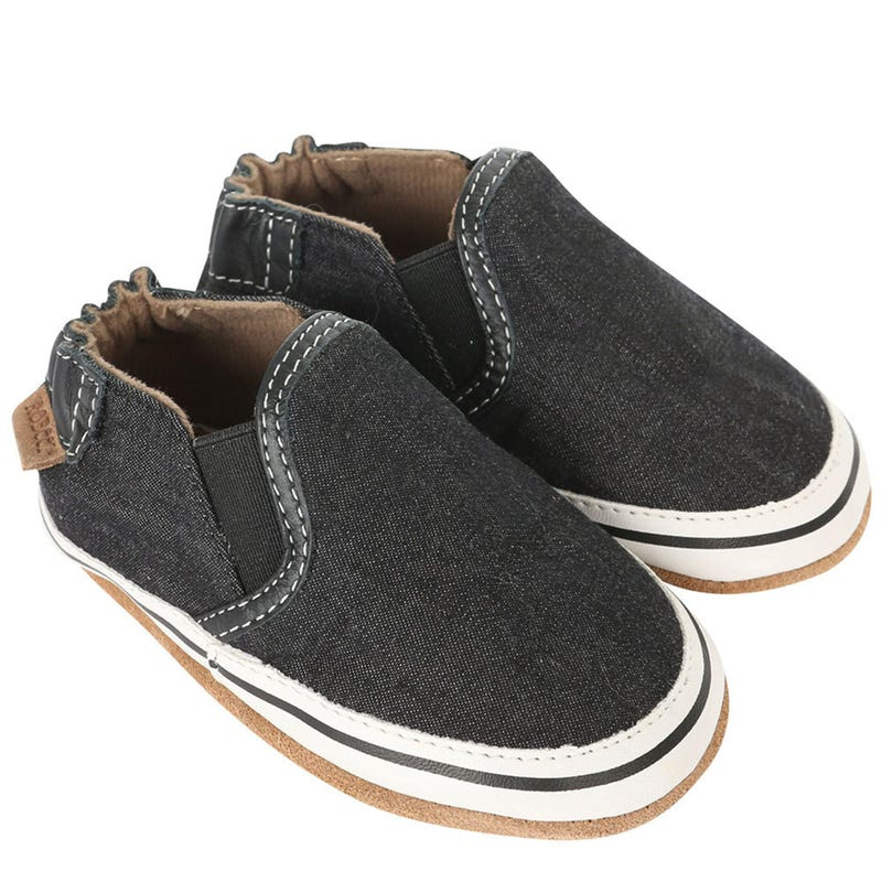 Shoe Liam Basic Black 0-24months