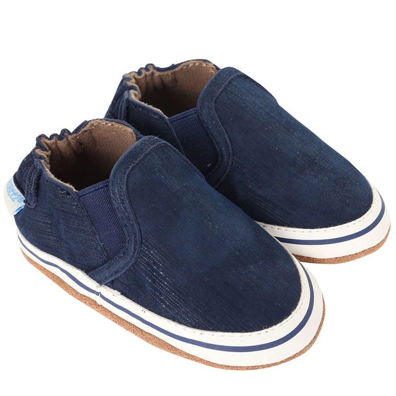 Shoe Liam Basic Navy 0-24months