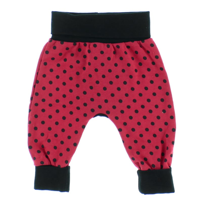 Dots Evolutive Pants 0-6m and Up