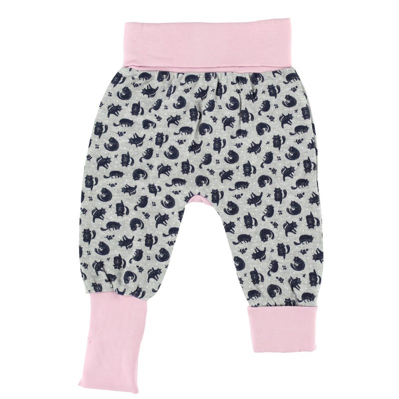 Yoga cat evolutive pants 0-6m and Up