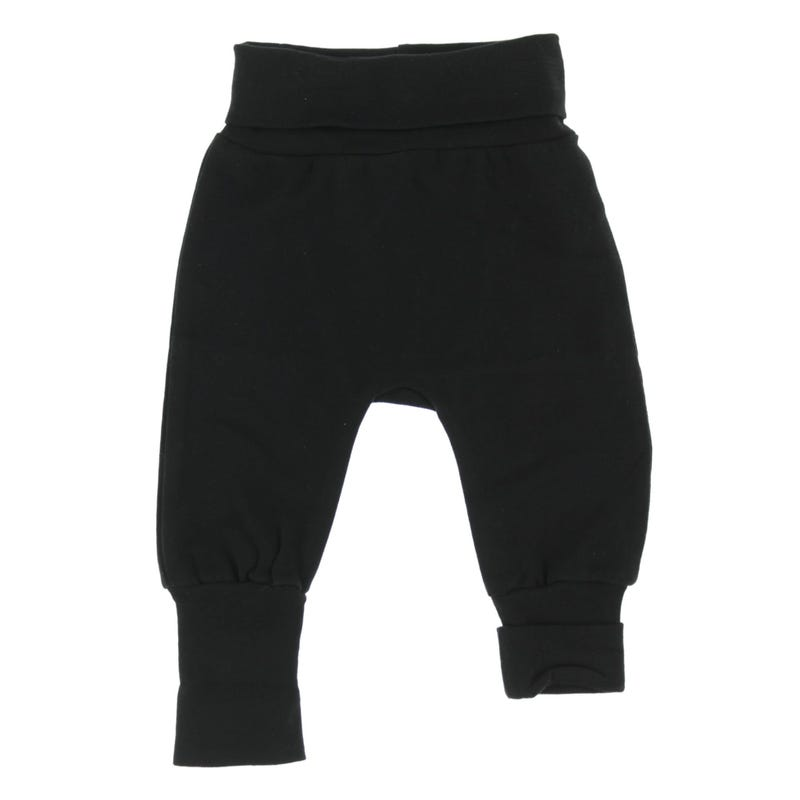 Black Evolutive Pant 0-6m and Up