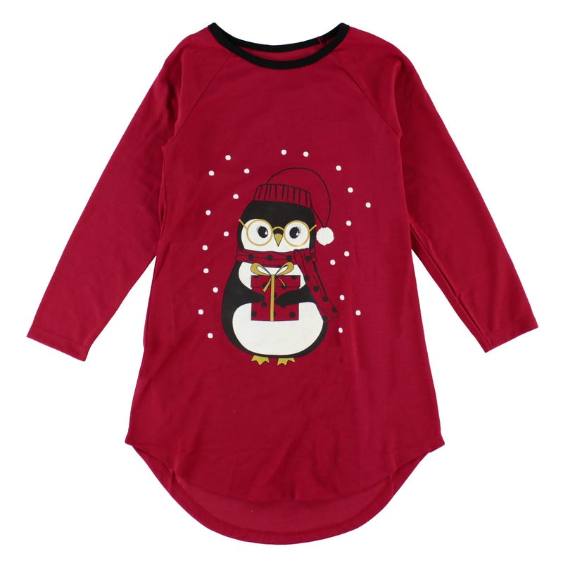 Penguin Nightgown 2-12