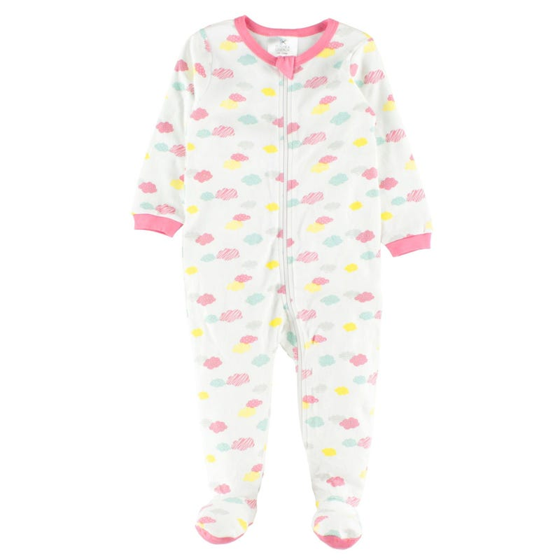 Cloud Print Pajamas 0-24m