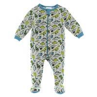 Dino Pajamas 0-24m