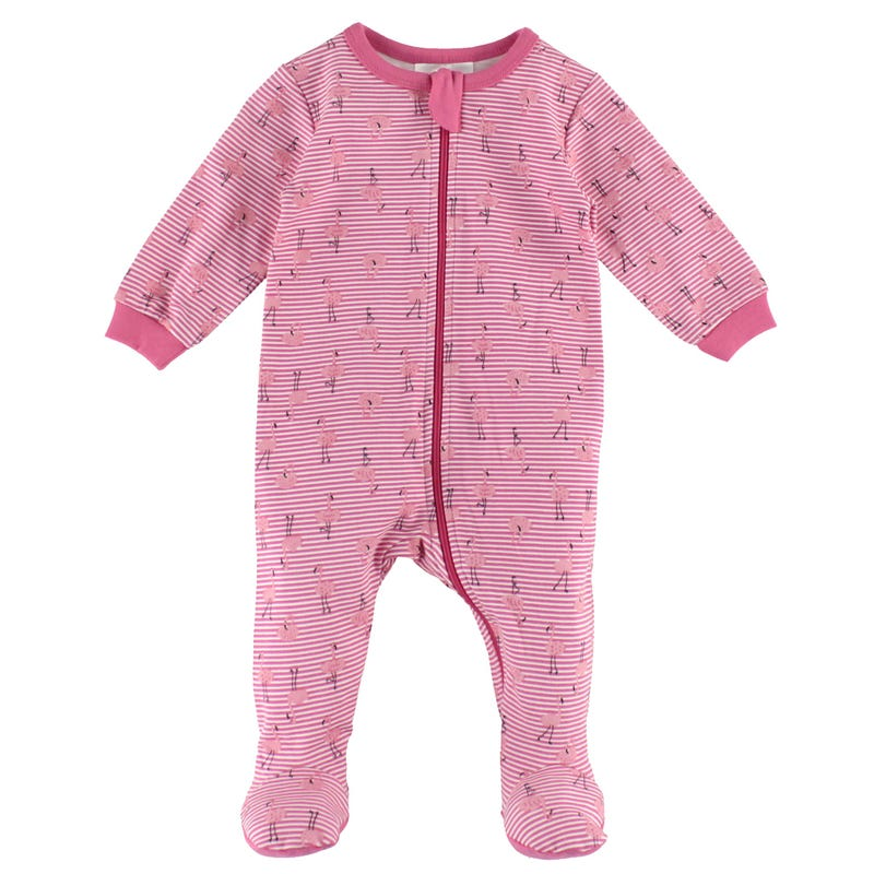 Flamingo Pajamas 0-24m