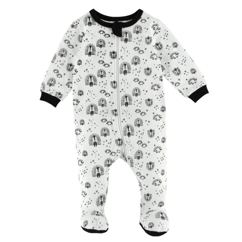 Hedgehog Pajamas 0-24m