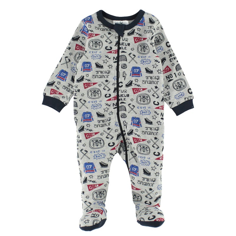 Hockey pajamas 0-24m
