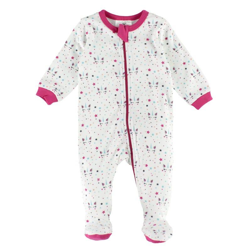 Unicorn Pajamas 0-30m