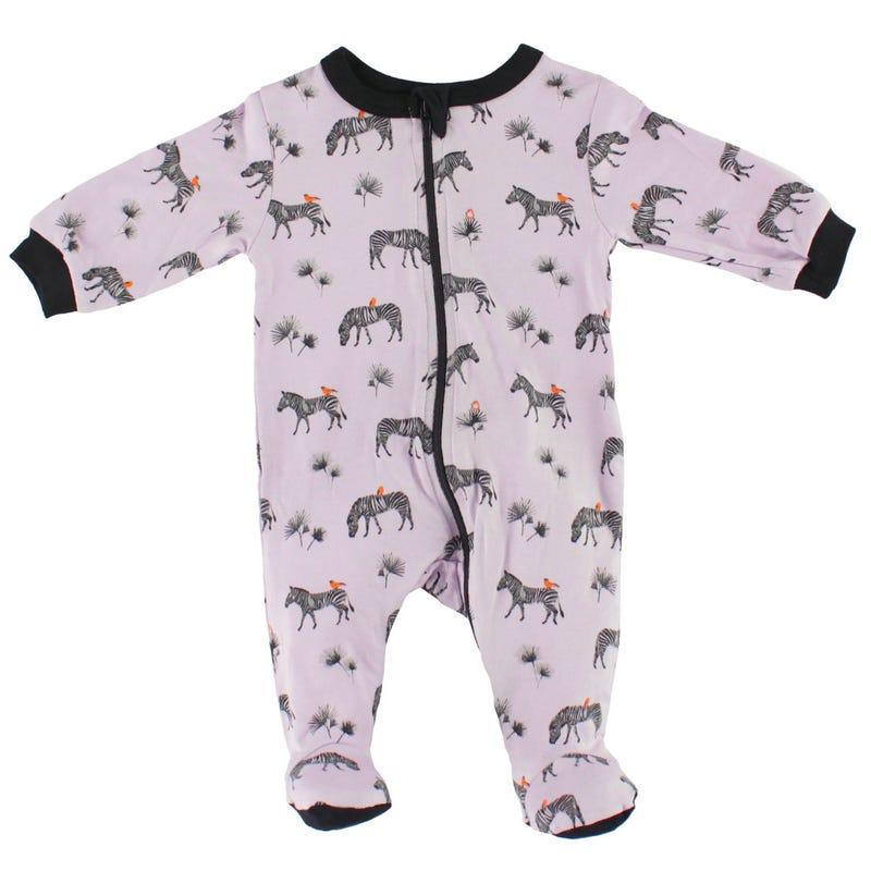 Zebra Modal Pajamas 0-30m