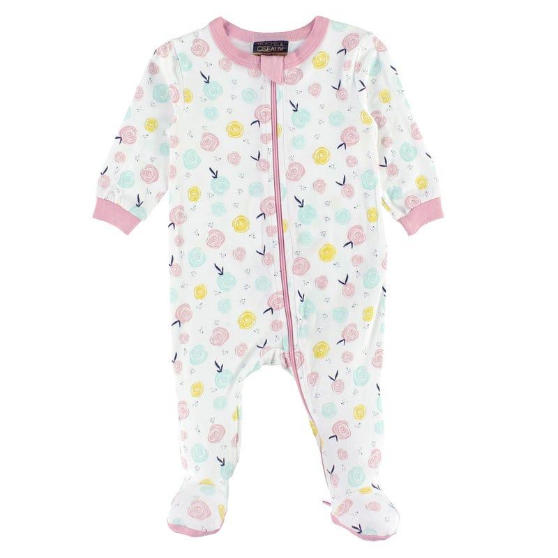 Pyjama Modal Fleurs 0-30mois