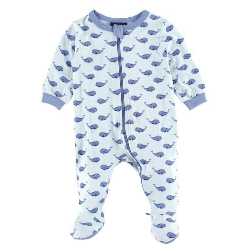 Pyjama Modal Baleines 0-30mois