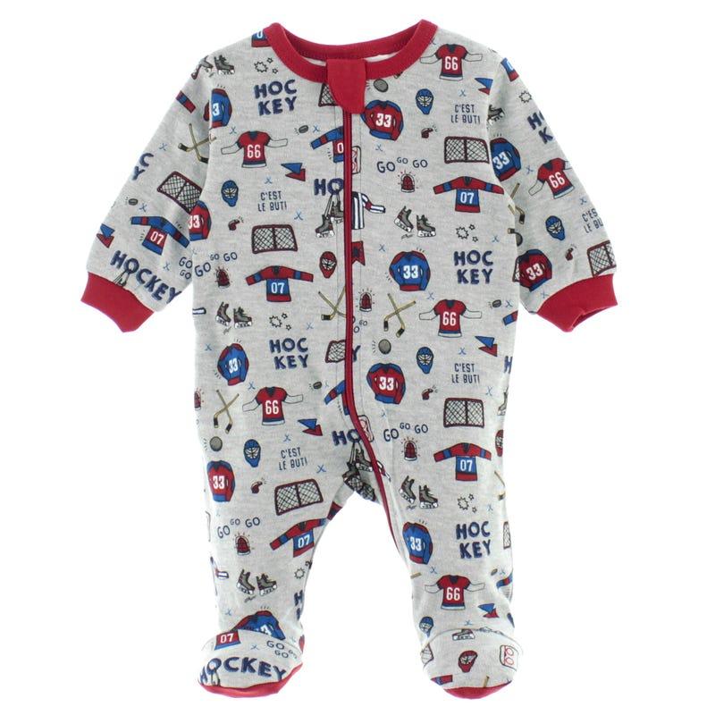 Hockey Pajamas 0-30m