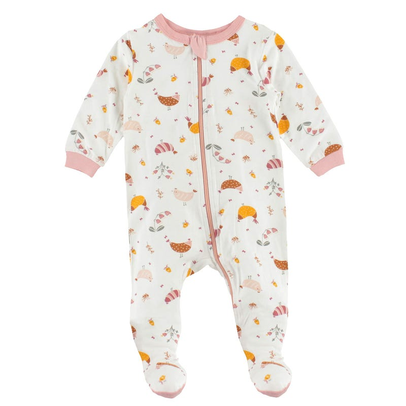 Pyjama Modal Poules 0-30mois