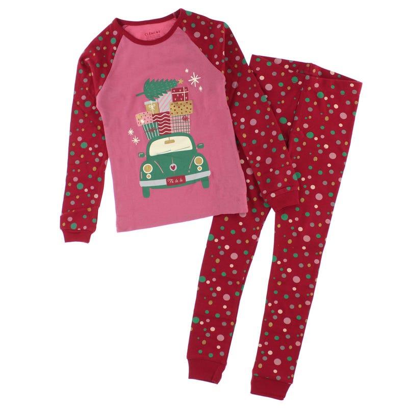 Pyjama Voiture 2-14ans