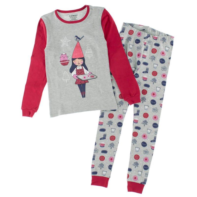 Cookies Elf Pajamas 2-14