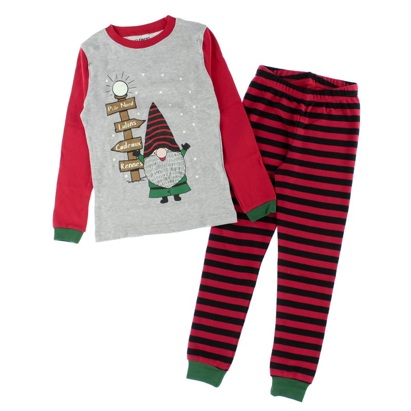 North pole elf pajamas 2-14