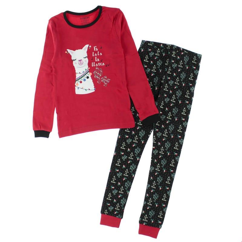 Llama pajamas 2-14