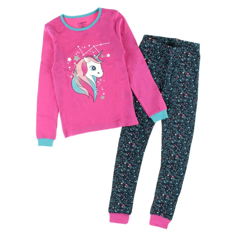 Unicorn pajamas 2-14