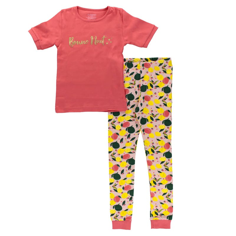 Fruits Pajamas 3-12