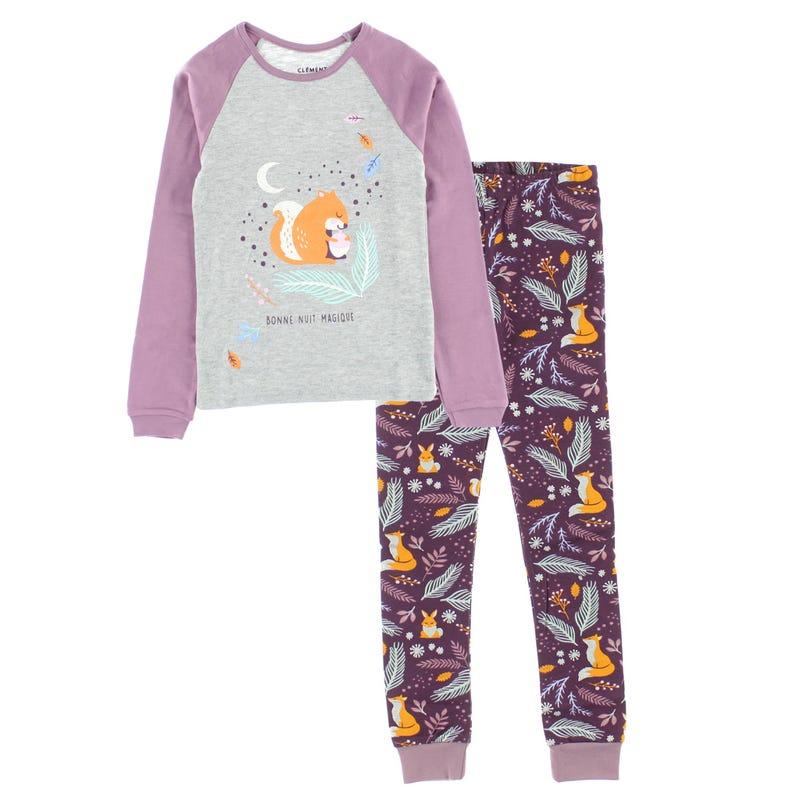 Squirrel Pajamas 2-14y