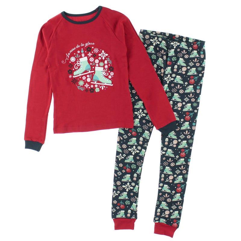 Skates Pajamas 2-14