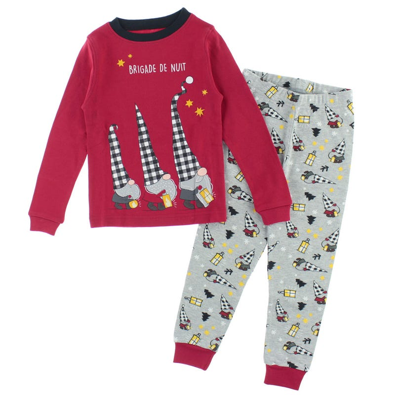 Elf Pajamas 2-14y