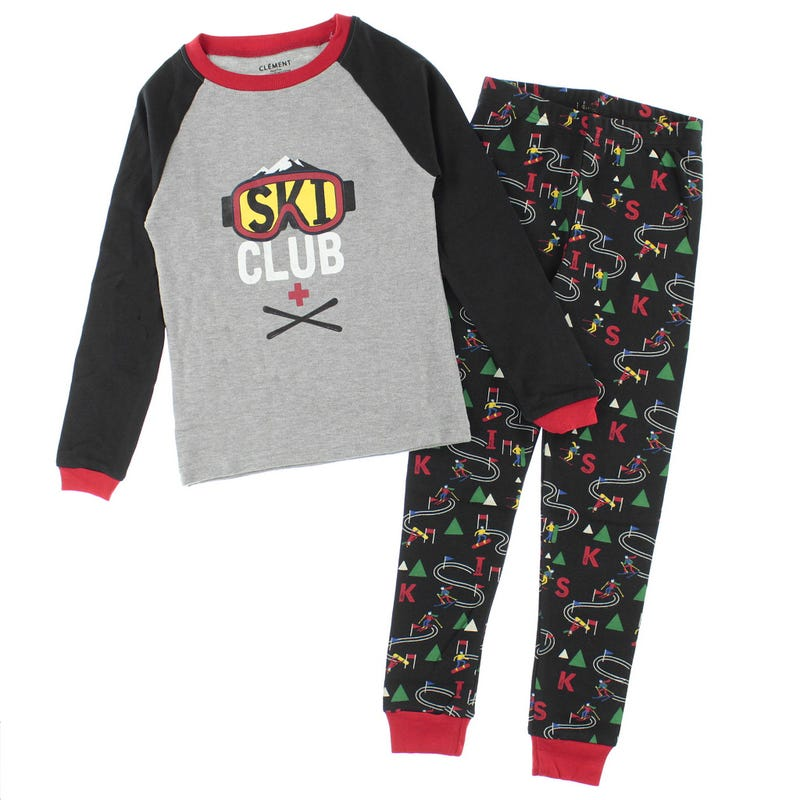 Ski Club Pajamas 2-14