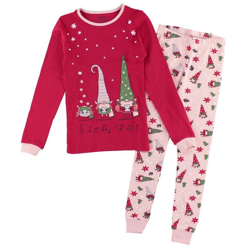 Elves Pajamas 2-14