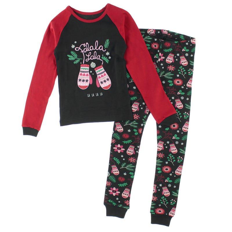 Mittens Pajamas 2-14