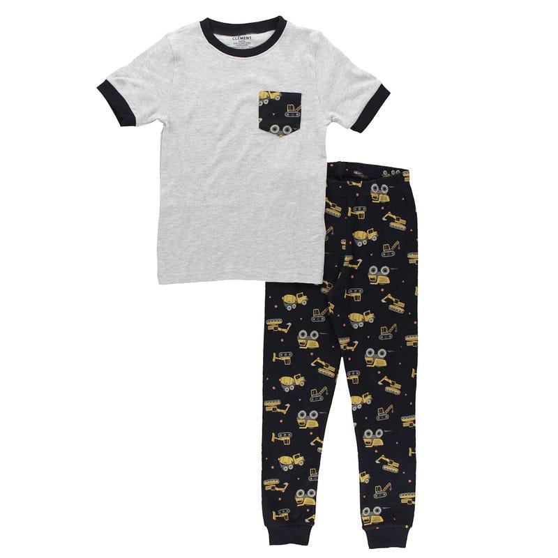 Construction Pajamas 2-14y